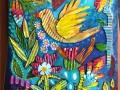 Whimsical Love Bird