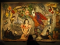 Largest Chagall painting in the exhibition - 3m x 5m approx.